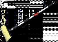 Щетка автомобильная, телескопическая ручка 180см, с переключателем, ES2354A