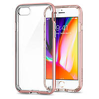 Чехол Spigen для iPhone 8 / 7 Neo Hybrid Crystal 2, Rose Gold, фото 1