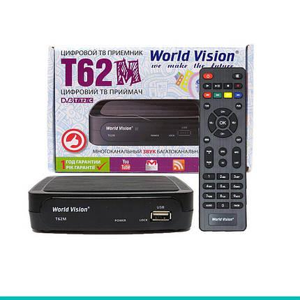 Цифровой ТВ-тюнер World Vision T62M  DVB-T2, фото 2