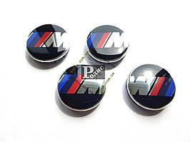 """Колпачки на диски BMW """"M"""" Ø 60-56 - Заглушки для дисков БМВ М"""