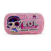 Кукла Лол сюрприз в капсуле декодер 4 сезон Шпион L.O.L. Surprise Under Wraps Doll-Series EyeSpy