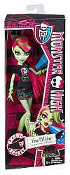 Кукла Monster HighВенера Мухоловка Командный дух Ghoul Spirit Venus McFlytrap