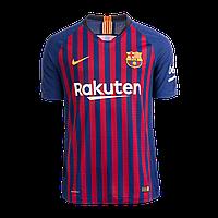 Детская футбольная форма 2018-2019 Барселона(Оригинал) домашний комплект