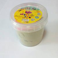 Кинетический песок 120 гр. песочный, фото 1