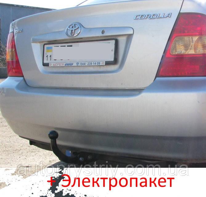 Фаркоп - Toyota Corolla (E12) Седан / Универсал (2002-2007)
