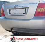 Фаркоп - Toyota Corolla (E12) Седан / Універсал (2002-2007)