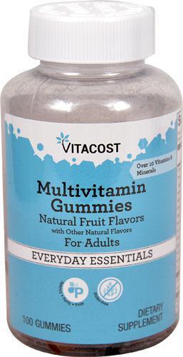 Vitacost Multivitamin Gummies for Adults ДЛЯ ДОРОСЛИХ І ПІДЛІТКІВ 100 шт