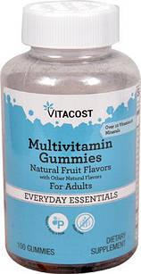 Vitacost Multivitamin Gummies for Adults  ДЛЯ ВЗРОСЛЫХ И  ПОДРОСТКОВ 100 шт