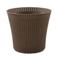 Квітковий горщик CONIC PLANTER 56,5 L коричневий (Keter), фото 1