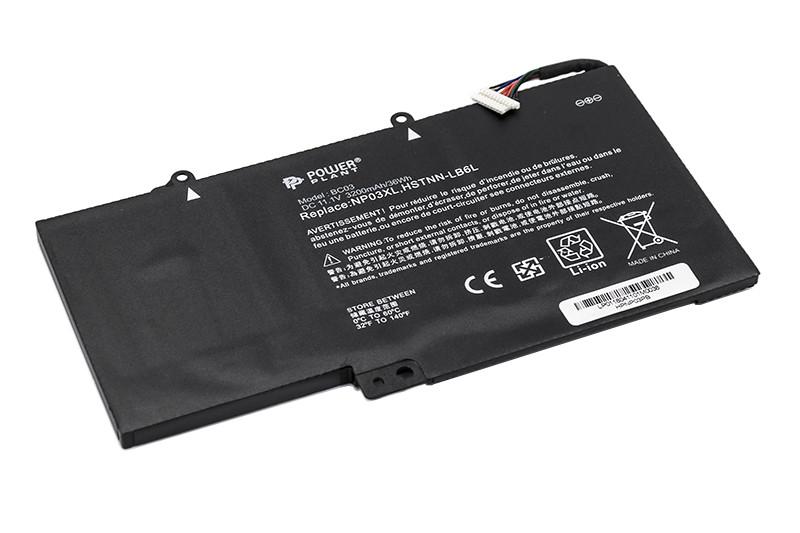 Аккумулятор PowerPlant для ноутбуков HP Pavilion X360  (NP03XL, HPNP03