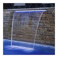 Стеновой водопад EMAUX PB 600-230(L) с LED подсветкой для бассейна, фото 1