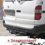 Фаркоп - Toyota Hiace H12/18/22/28 Мікроавтобус (1995-2012) Тільки європейська зборка. Бак знизу