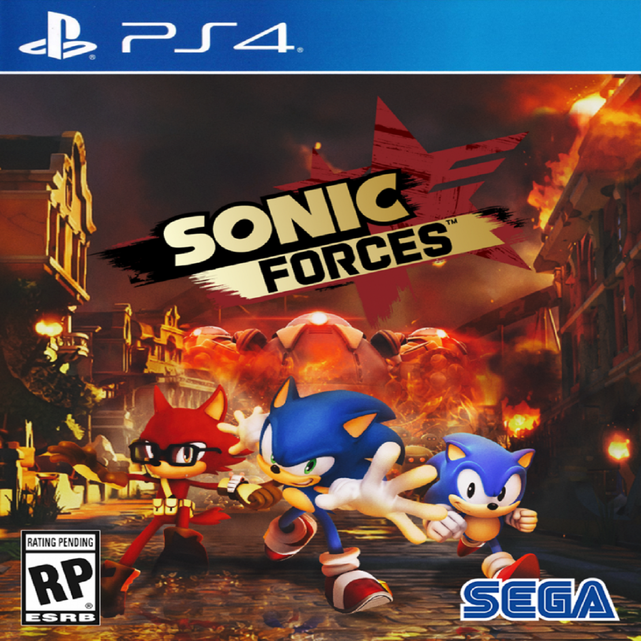 Sonic Forces RUS PS4 (NEW)