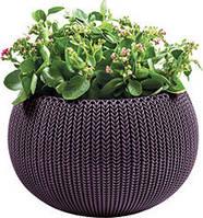 Квітковий горщик COZIES M фіолетовий (Keter), фото 1