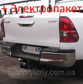 Фаркоп - Toyota Hilux Пикап (2004--) без балки