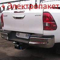Фаркоп - Toyota Hilux Пикап (2004--) без балки, фото 1