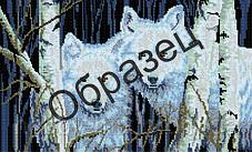 """Схема для вышивки """"микс"""" А2 """"Волк"""""""