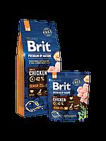 Brit Premium by Nature SENIOR S+M - корм для пожилых собак мелких и средних пород