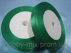 Лента атлас 10 мм, зеленый