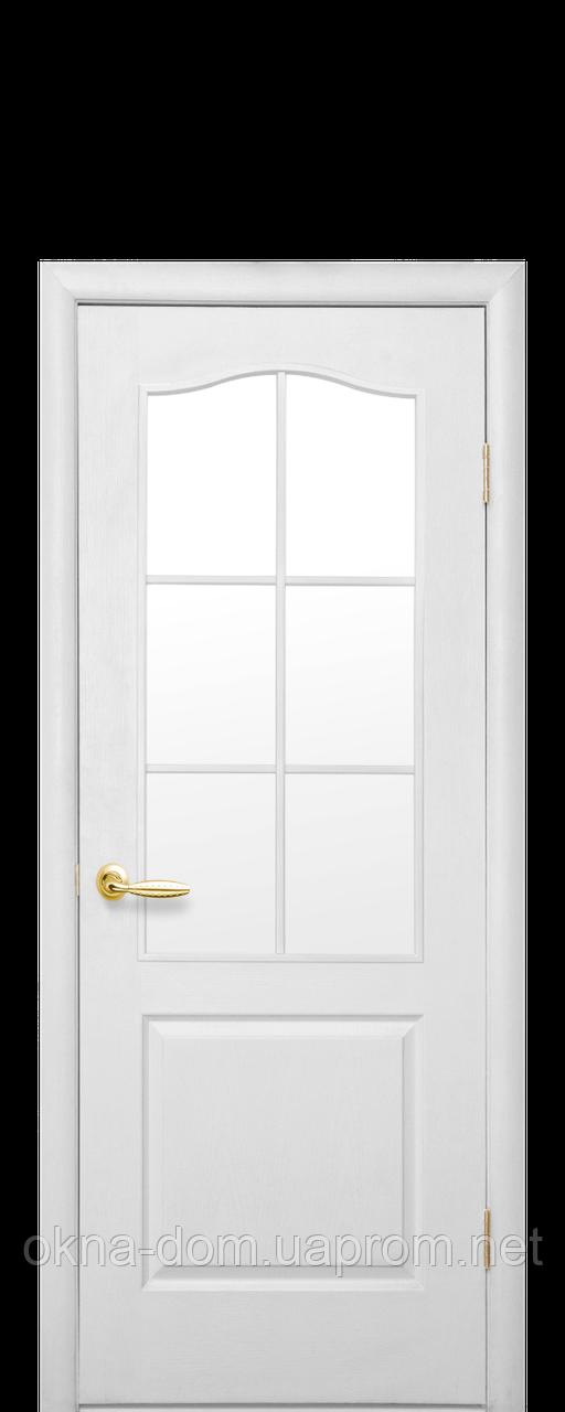 Двери межкомнатные Новый Стиль Классик (Стекло сатин)