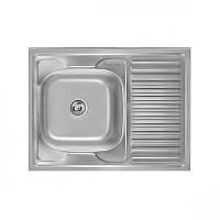 Мойка кухонная Imperial 5080-L нержавейка, покрытие Decor