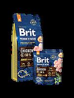 Brit Premium by Nature JUNIOR M - корм для щенков и молодых собак средних пород