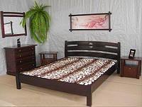 """Спальня из массива натурального дерева """"Сакура"""" (кровать с тумбочками)"""