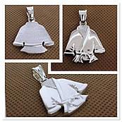 Кулон кимоно из серебра 925
