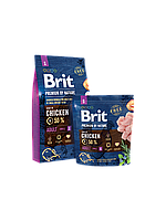 Brit Premium by Nature ADULT S - корм для собак мелких пород (1-10кг)