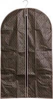 Чехол для одежды 60 х 100 см коричневый