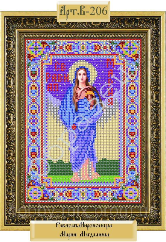 """Схема для вышивки бисером """"Святая мироносица Мария Магдалина"""""""