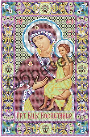 """Схема для вышивки бисером """"Пресвятая Богородица """"Воспитание"""""""", фото 2"""