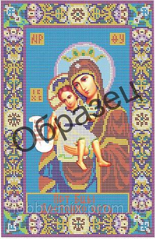 """Схема для вышивки бисером """"Пресвятая Богородица """"Достойно есть"""""""", фото 2"""