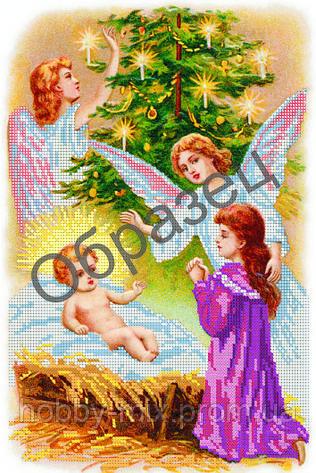 """Схема для вышивки бисером """"Рождество"""", фото 2"""