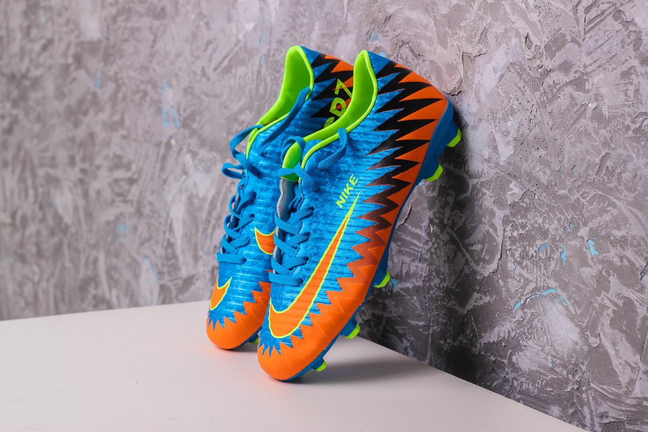 7ffaeff5 Бутсы Nike Mercurial CR7(Синие) 1002(реплика): продажа, цена в Киеве ...