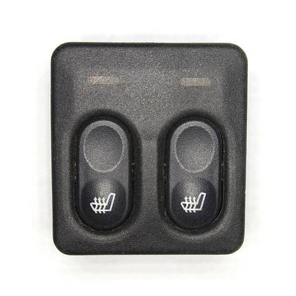 Блок управления подогревом сидений ВАЗ-2110 (2 кнопки), фото 2