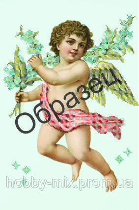 """Схема для частичной вышивки """"Ангелок"""""""