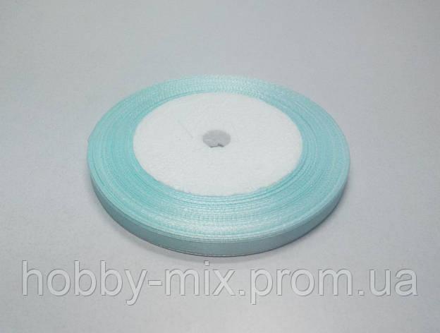 Лента атлас 6 мм, светло-голубой, фото 2
