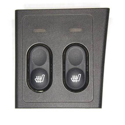 Блок управления подогревом сидений ВАЗ-2170 (2 кнопки), фото 2