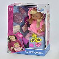 Кукла функциональная с набором парикмахера и аксессуарами, закрывает глазки, в коробке