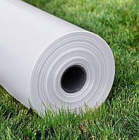 Пленка белая 80мкм, 3м/100м. Строительная, полиэтиленовая прозрачная, фото 1