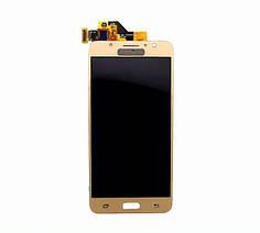 Дисплей экран модуль с Samsung GH96-10324A G570 Galaxy J5 Prime (2016) с сенсором золотой сервисный