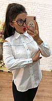 Рубашка женская с открытыми плечами  ам2115, фото 1