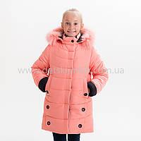"Зимняя куртка для девочки ""Мери"", Зима 2019 года, фото 1"