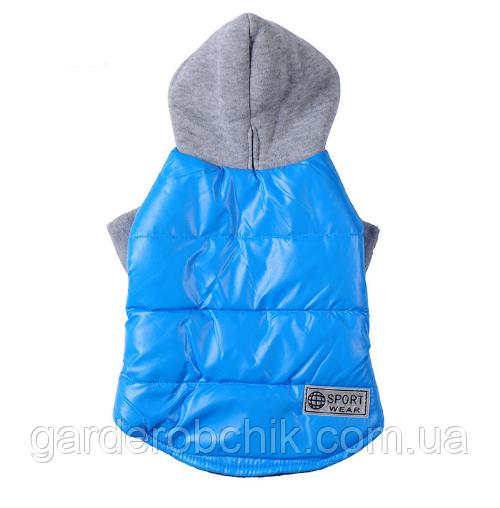 """Куртка, пальто теплое """"Sport"""" для собак, кошек. Одежда для животных"""