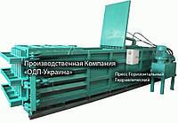 Пресс Горизонтальный Гидравлический для макулатуры и пластика, ПЭТ тары, фото 1