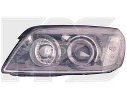 Фара передняя для Chevrolet Captiva '06-10 правая (DEPO) под электрокорректор черный отражатель
