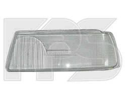 Стекло фары для Audi 80 '86-94 правое, H1+H1 (фара с линзой) (HELLA)