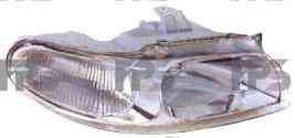 Фара передняя для Daewoo Nubira '97-99 левая (DEPO) под электрокорректор