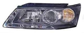 Фара передняя для Hyundai Sonata '05-07 правая (DEPO) под электрокорректор